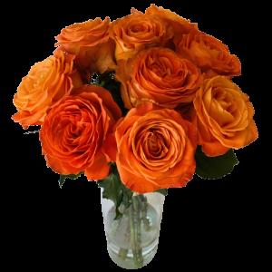 Kytica oranžových ruží Joy